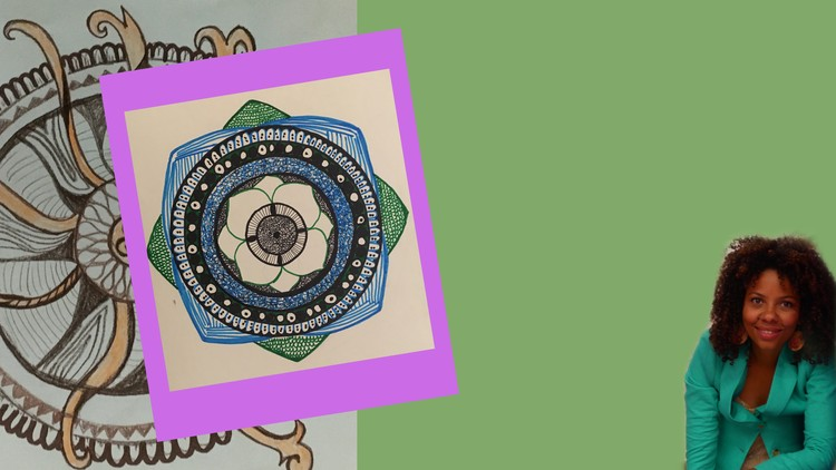 Mindfulness based Art:The Mindfulness Mandala Drawing Course