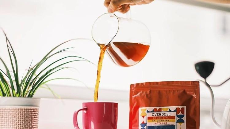 Kahve Demleme Kursu (V60, Chemex, Aeropress, Mokapot...)