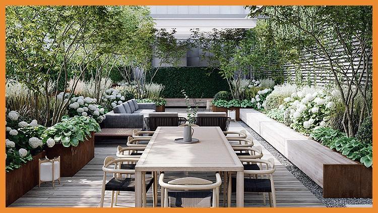 EXPERTO en Diseño de Terrazas y Pequeños Jardines Domésticos Coupon
