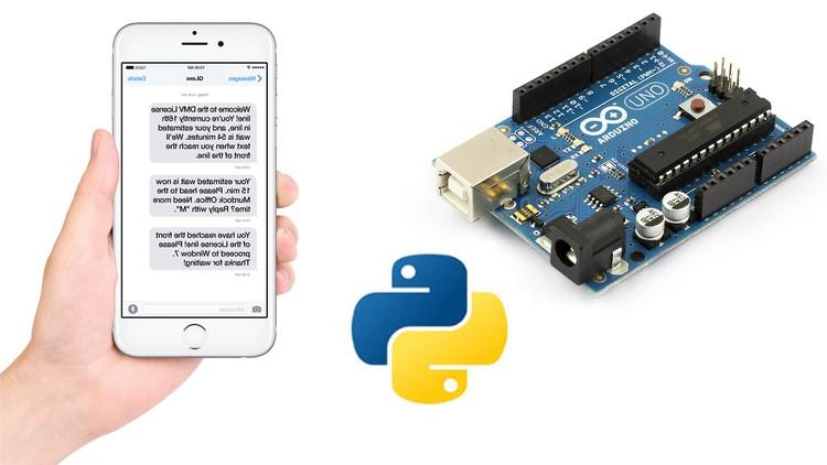 Arduino SMS Sending Motion Detector using Python Coupon