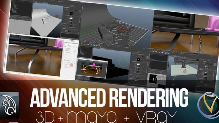 Maya - Advanced Rendering with V-Ray