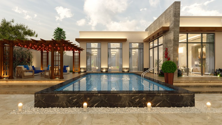 Exterior 3Ds Max workshop for Architects