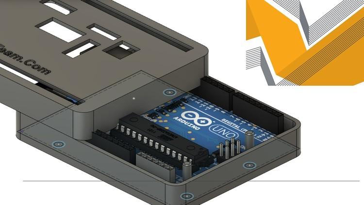 Design 3D Printed Enclosure for Arduino Boards Fusion 360