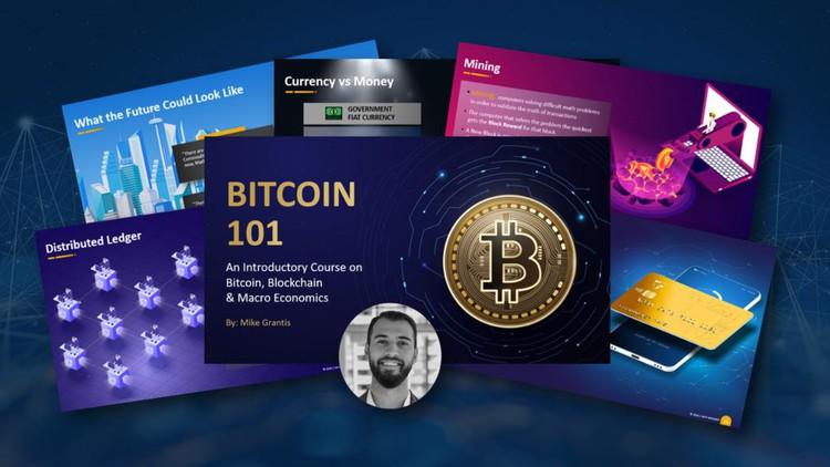 Bitcoin 101 - Complete Intro to Bitcoin, Blockchain & Crypto Coupon