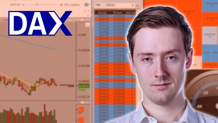 DAX Future Trading: Traden mit Tapereading und Tick Charts