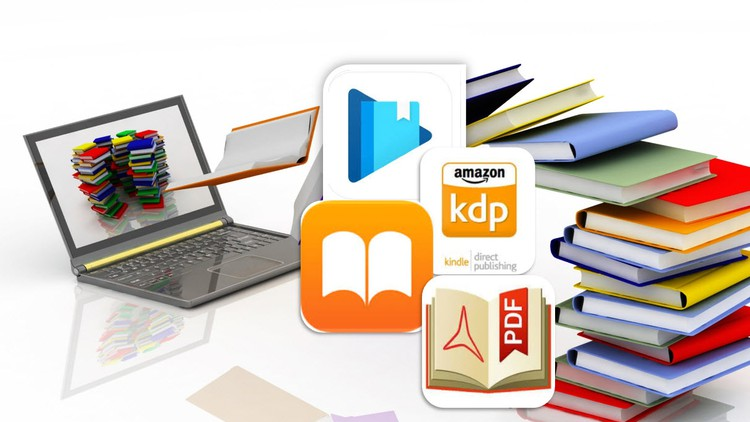 Publish Books in Amazon, Google Play, Apple Books as Pro Coupon