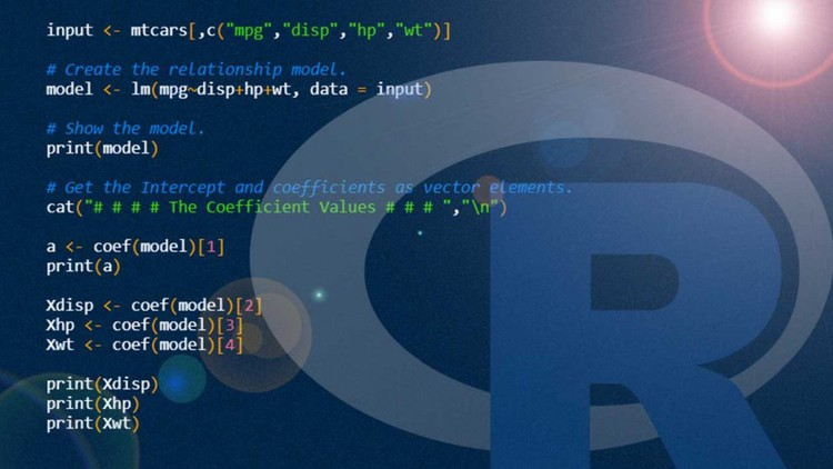 R Crash Course - Learn R-programming in 2 hours: R & RStudio Coupon
