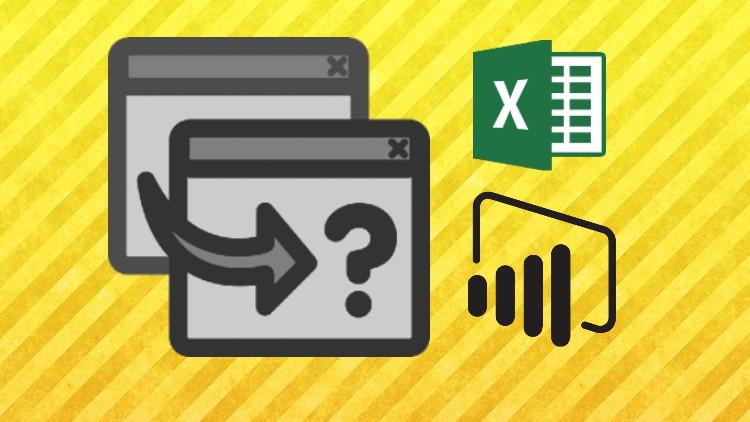 Power Query - Transformación de datos en Excel y Power BI Coupon