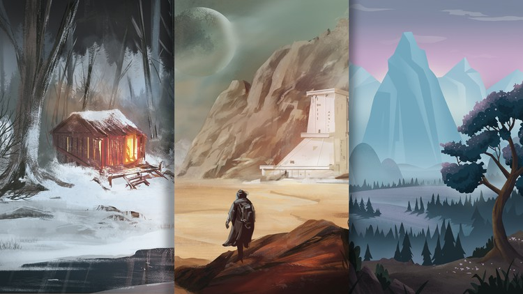 Background Design - Landscapes and Environments