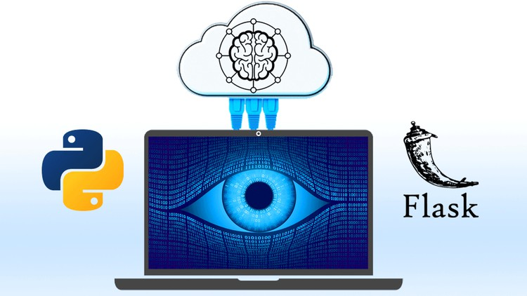 Deploy Computer Vision Flask Web App using Python in CLOUD Coupon