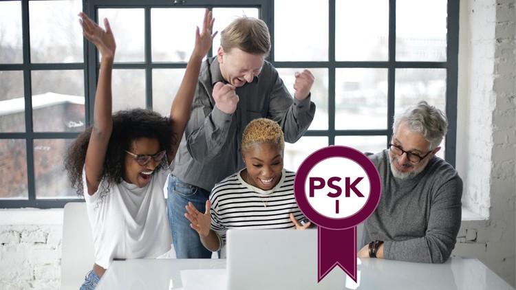 PSK I Professional Scrum Kanban Certification Practice Tests