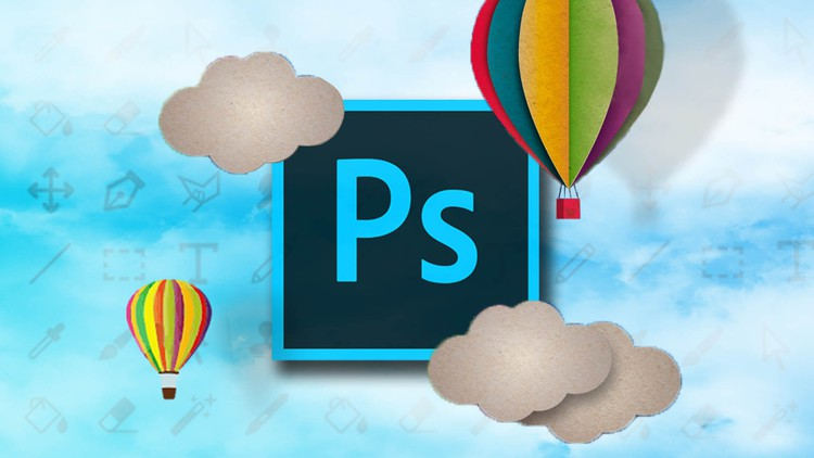 Adobe Photoshop course. From initiation to expert!