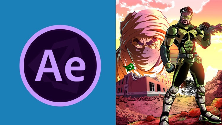 Adobe After Effects : Learn Comic Book Animation Coupon