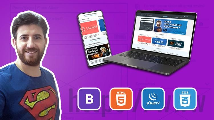 Bootstrap 4.0 ile Front-end Web Sitesi Eğitimi