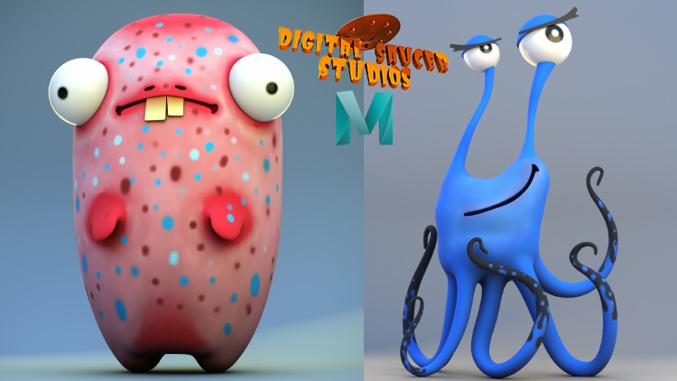 Modeling and Rendering Cute Characters in Maya 2020 Coupon