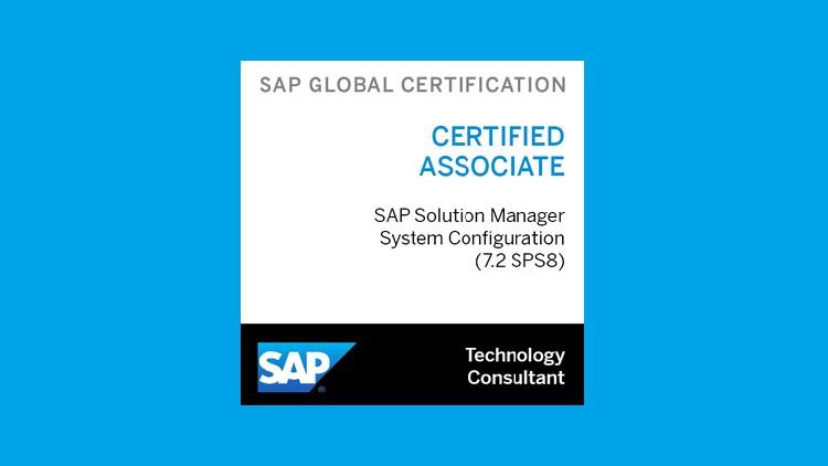 Exam C_SM100_7208 SAP Certified Solution manager (7.2 SPS8)