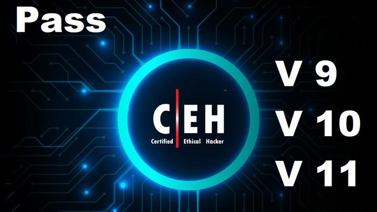 Certified Ethical Hacker (v9/v10/v11) Practice Tests