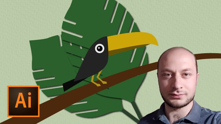 Create Toucan in Illustrator from Sketch Coupon