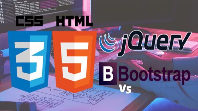 Crea una Landing Page con HTML5, CSS3, JQUERY Y BOOTSTRAP 5 Coupon
