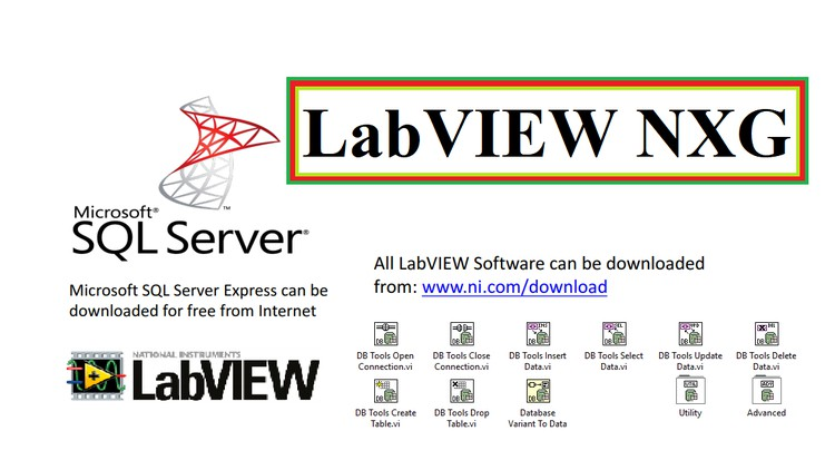 LabVIEW NXG and SQL