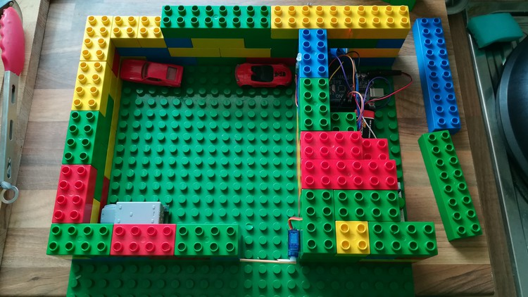 The Arduino Parking Garage