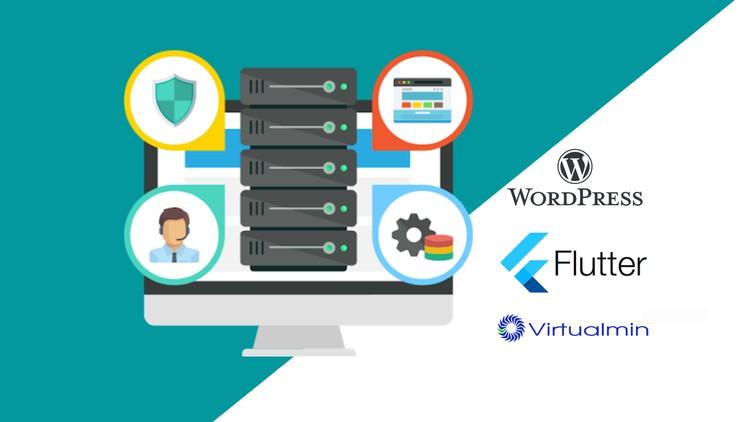 Virtual Private Server (VPS) – WordPress site & Flutter web