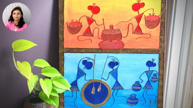 Home Décor – Learn Fine Art Skills with Warli (Folk) Art