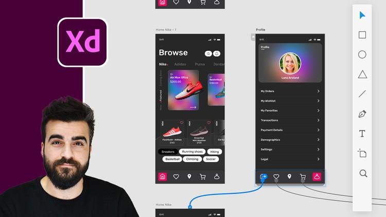 Adobe XD Mega Course  - User Experience Design Coupon
