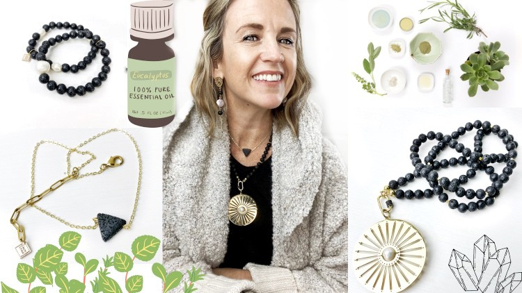 Learn How To Make Aromatherapy Jewelry with Lava Stone Coupon