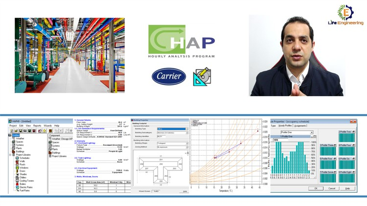 HVAC-Complete HAP Course-Software by Carrier (one part only) Coupon