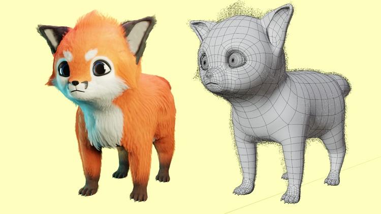 Learn Cat Modeling in Blender from Scratch