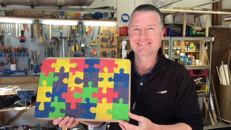Woodworking: Make A Colourful 24 Piece Wooden Jigsaw Puzzle