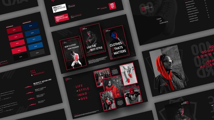 Design a brand style guide | The Entire Brand Design Process