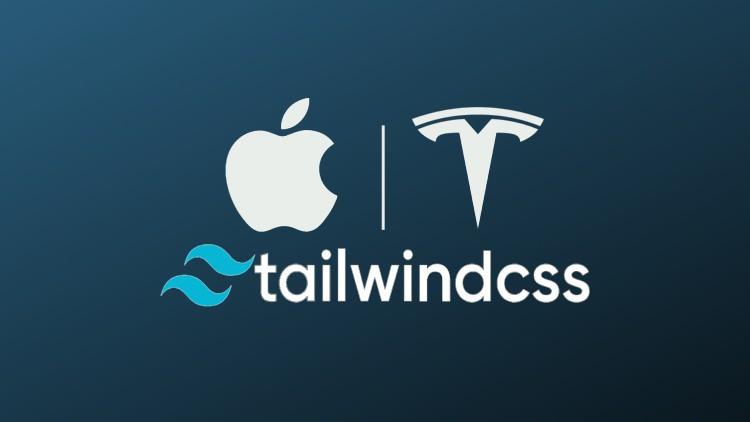 Learn Tailwind CSS, TESLA, APPLE, Cool Portfolio Tailwind UI