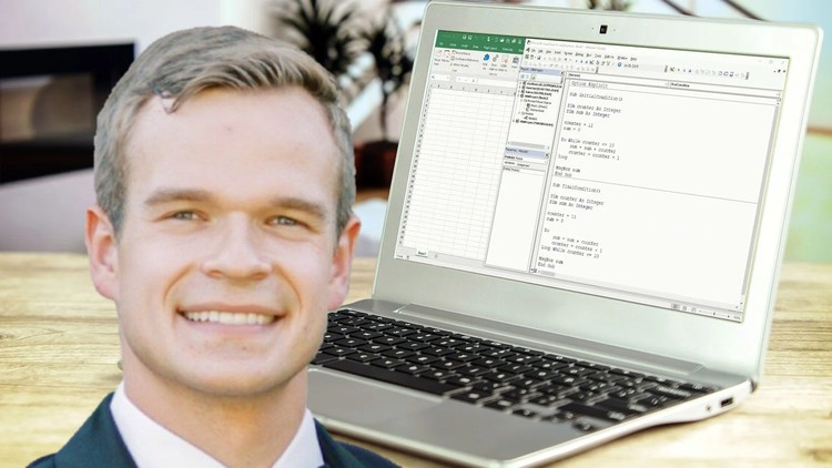 Project Based Excel VBA Course with Business Examples