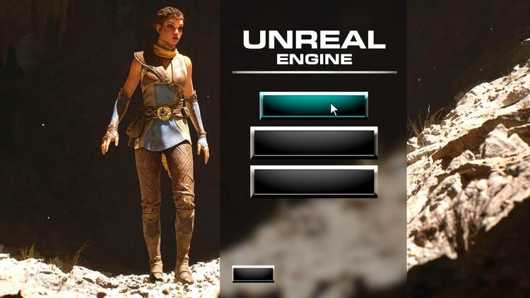 Unreal Engine 5 – Learn to Make a Professional Main Menu