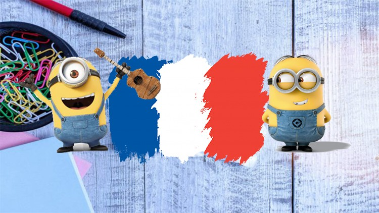 The complete A1-A2 French course for beginners.