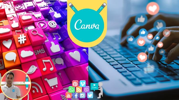 Become Professional Social Media Visual Designer | Canva